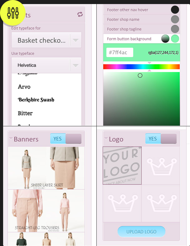 6a7f98c490 choose a theme and customise your store 8