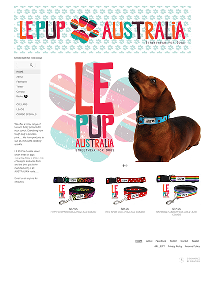 Start your online store  0014 le pup myka 1