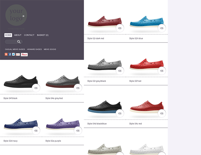 Start your online store with shop themes dt  0018 lowrise