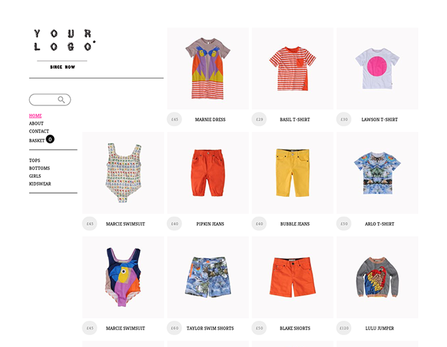 Start your online store with shop themes dt  0022 mini small and co