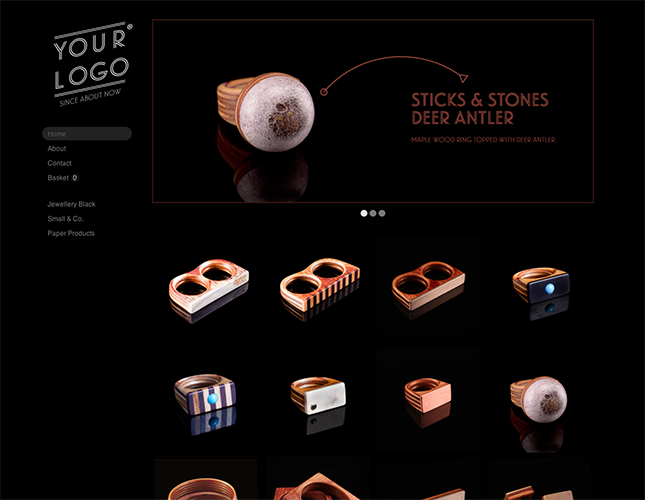 Start your online store with shop themes dt  0008 goumi at night