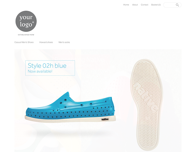 Start your online store with shop themes dt  0001 cherik