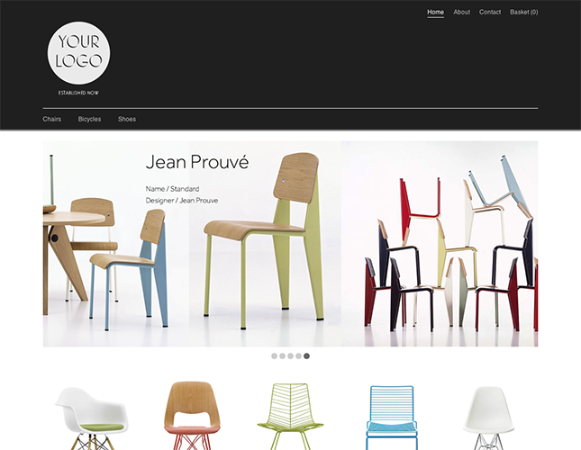 Start your online store with shop themes dt  0034 punch5