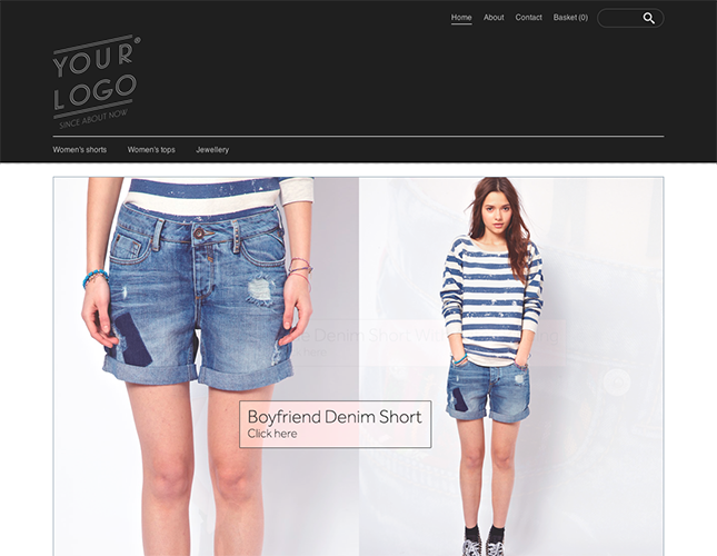 Start your online store with shop themes dt  0019 lucent 5ive