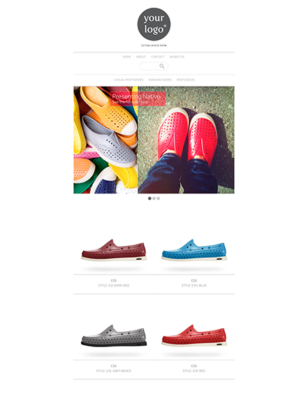 Start your online store with shop theme  0013 binky