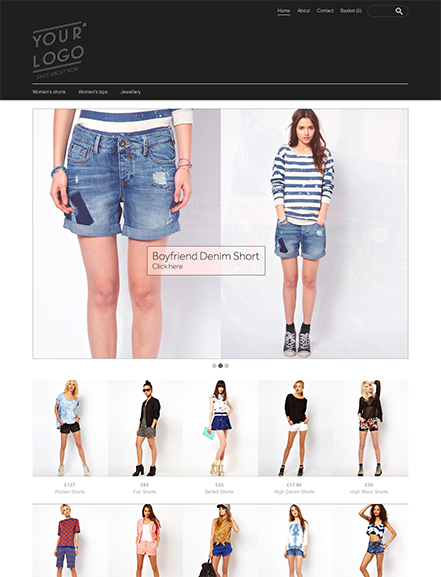 Start your online store with shop theme  0019 lucent 5ive