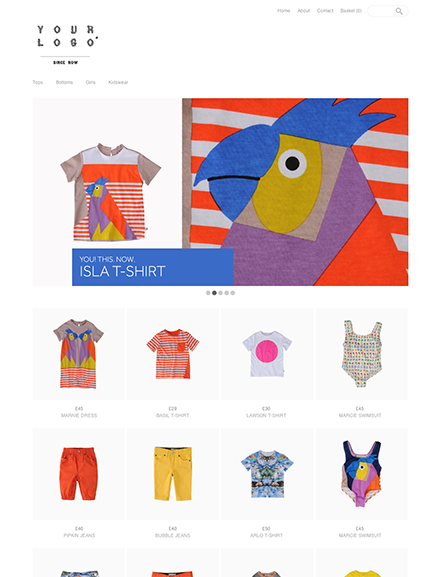Start your online store with shop theme  0012 judy