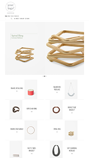 Start your online store with shop themes m  0040 snow white
