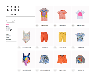 Create your online store with beautiful ecommerce themes  0014 mini small and co