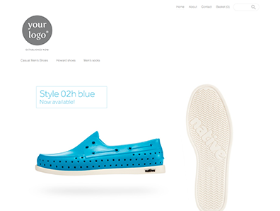 Create your online store with beautiful ecommerce themes  0021 cherik