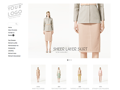 Create your online store with beautiful ecommerce themes  0027 laurel