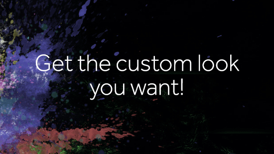 Get the custom look you want with css html customisations for your store 1