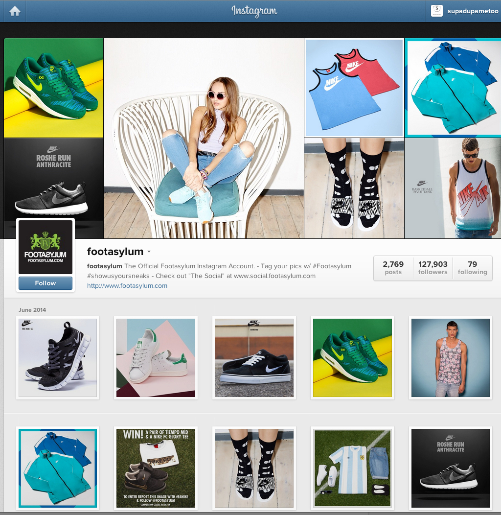 Popular clothing stores on instagram