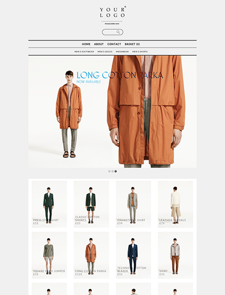 Start your online store with shop theme  0003 classic grid portrait