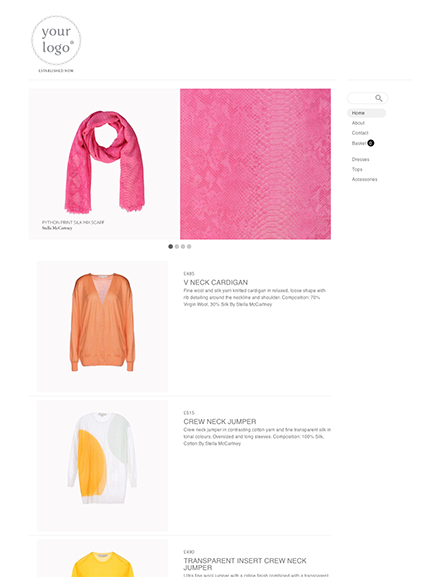 Start your online store with shop theme  0043 zingly