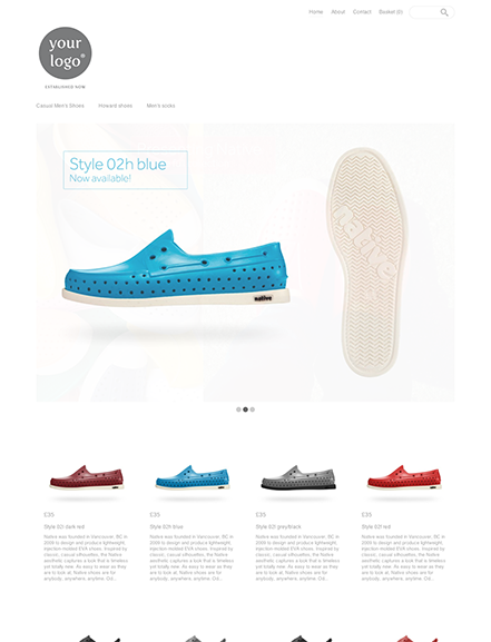 Start your online store with shop theme  0001 cherik