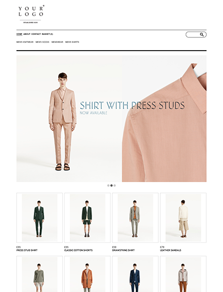 Start your online store with shop theme  0010 half baked