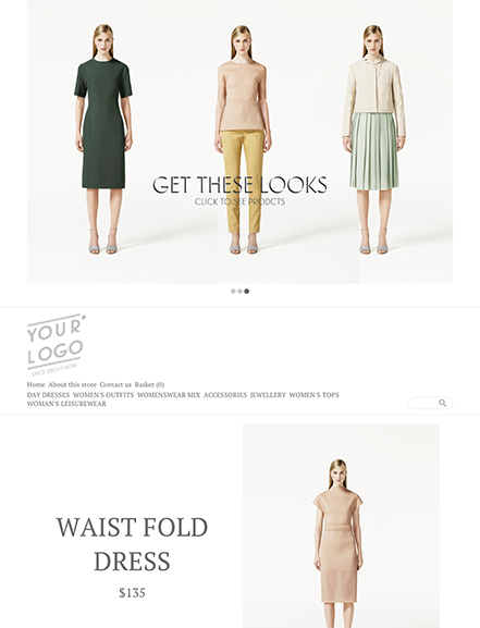 Start your online store with shop theme  0005 double page spread
