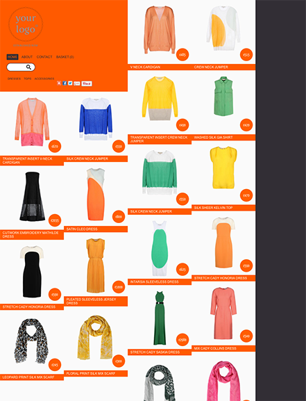 Start your online store with shop theme  0011 highrise