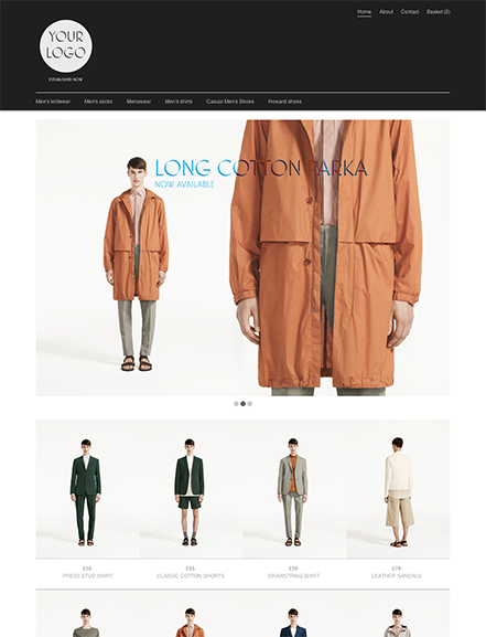 Start your online store with shop theme  0020 lucent
