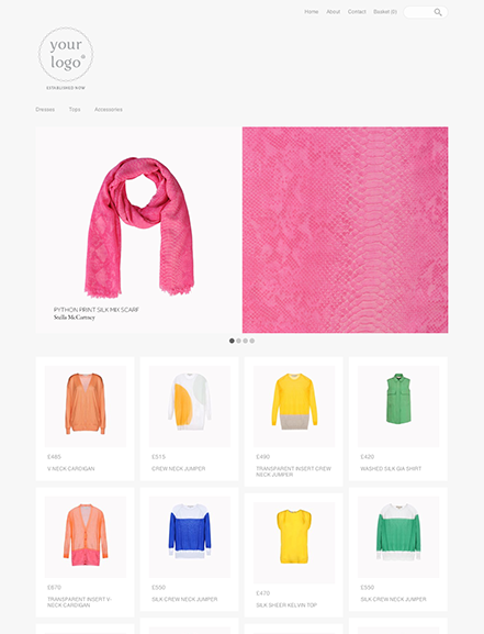 Start your online store with shop theme  0006 evie
