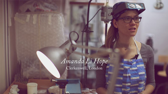 How to start your own store amanda li hope jewellery designer maker 1