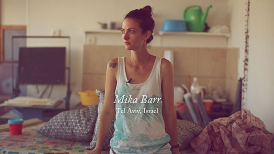 How to start your own store mika barr textile designer tel aviv 1